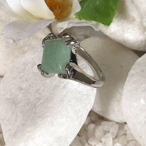 Jewelry - 🛍NATURAL GREEN AVENTURINE RING🌸✨